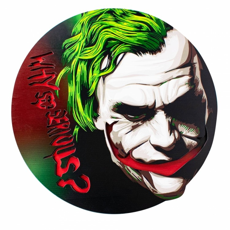 Tapete FullColor 3DS - Why So Serious